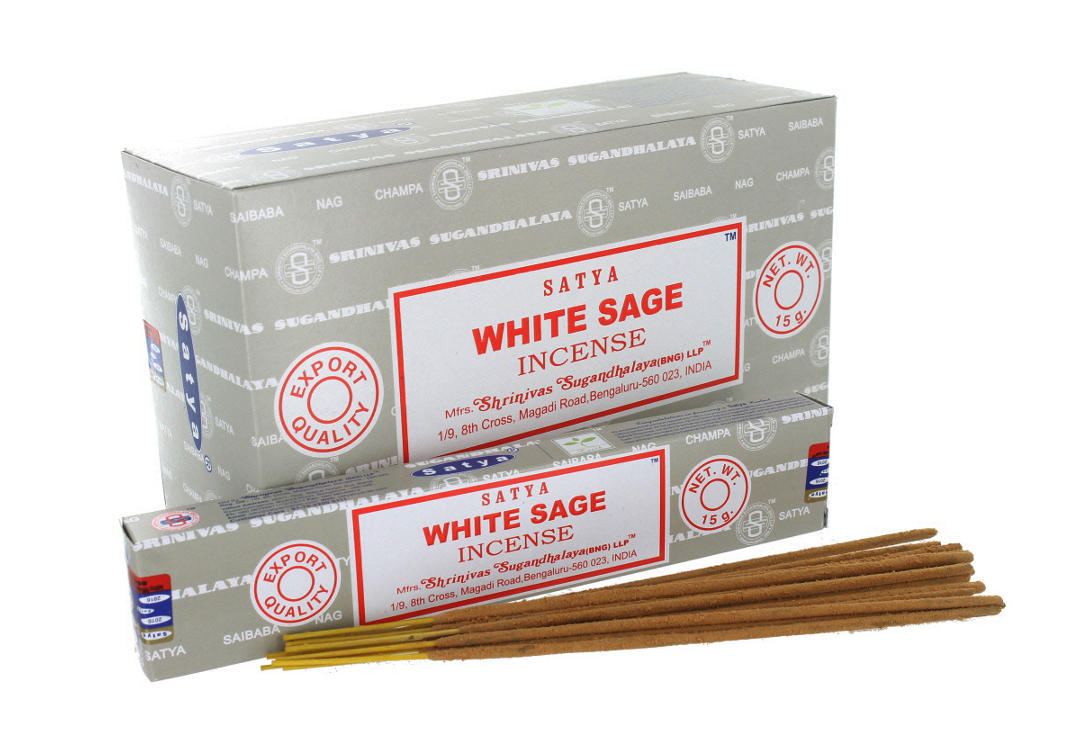 Satya | White Sage Incense Sticks