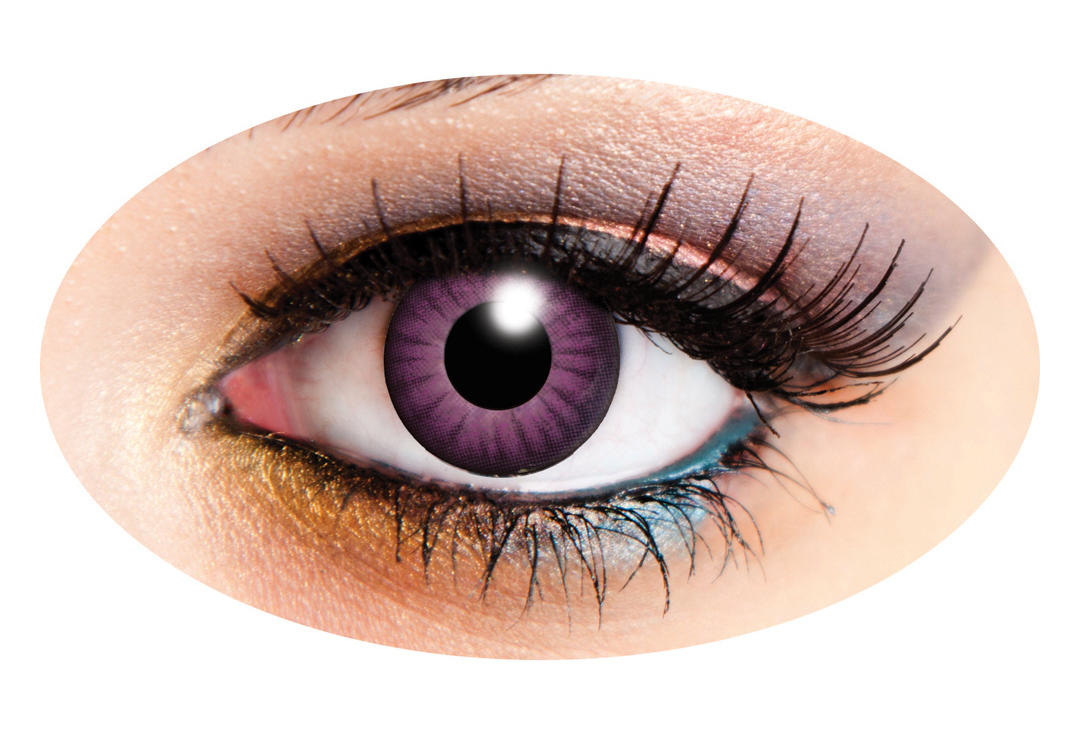 Innovision | Electro Purple 90 Day Contact Lenses
