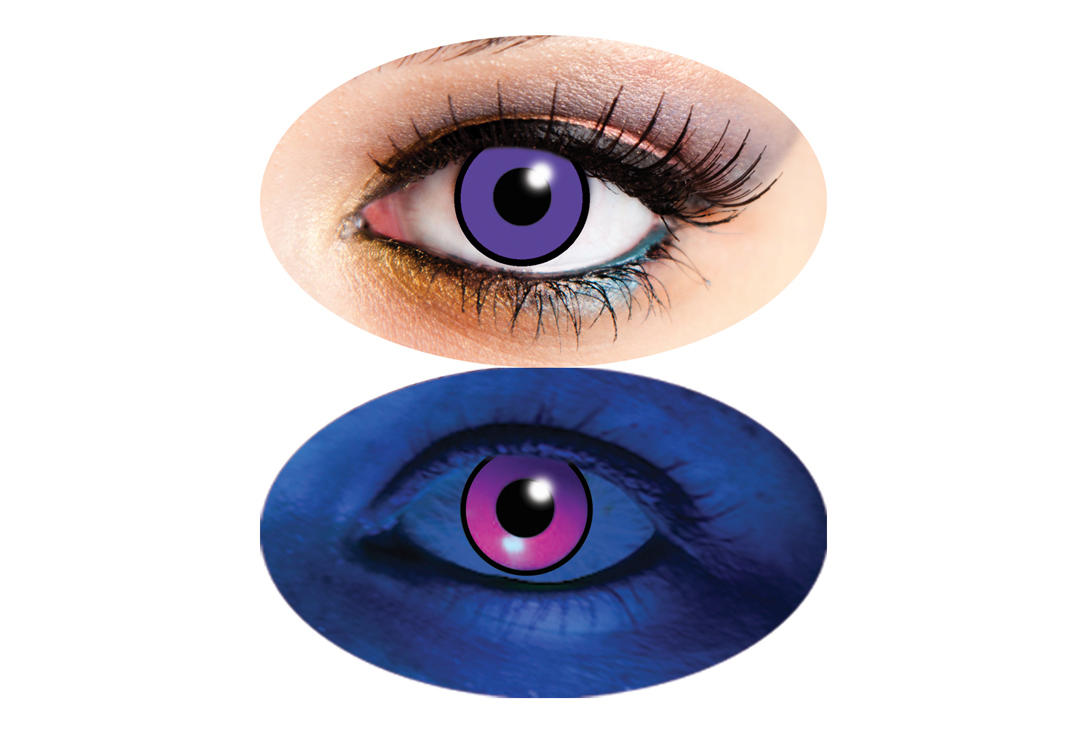 Innovision | UV Purple 90 Day Contact Lenses