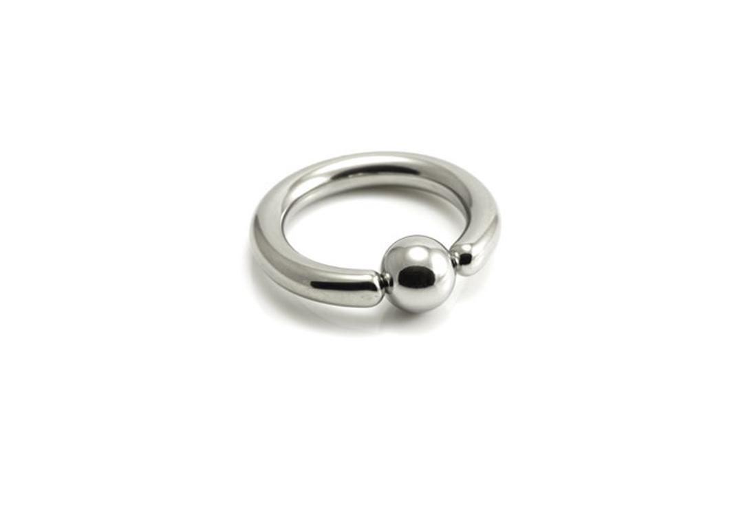 Body Jewellery | Surgical Steel Ball Closure Ring - 2mm to 8mm