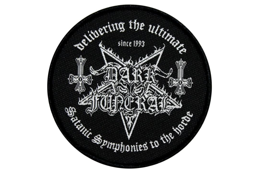 Official Band Merch | Dark Funeral - Satanic Symphonies Woven Sew On Patch
