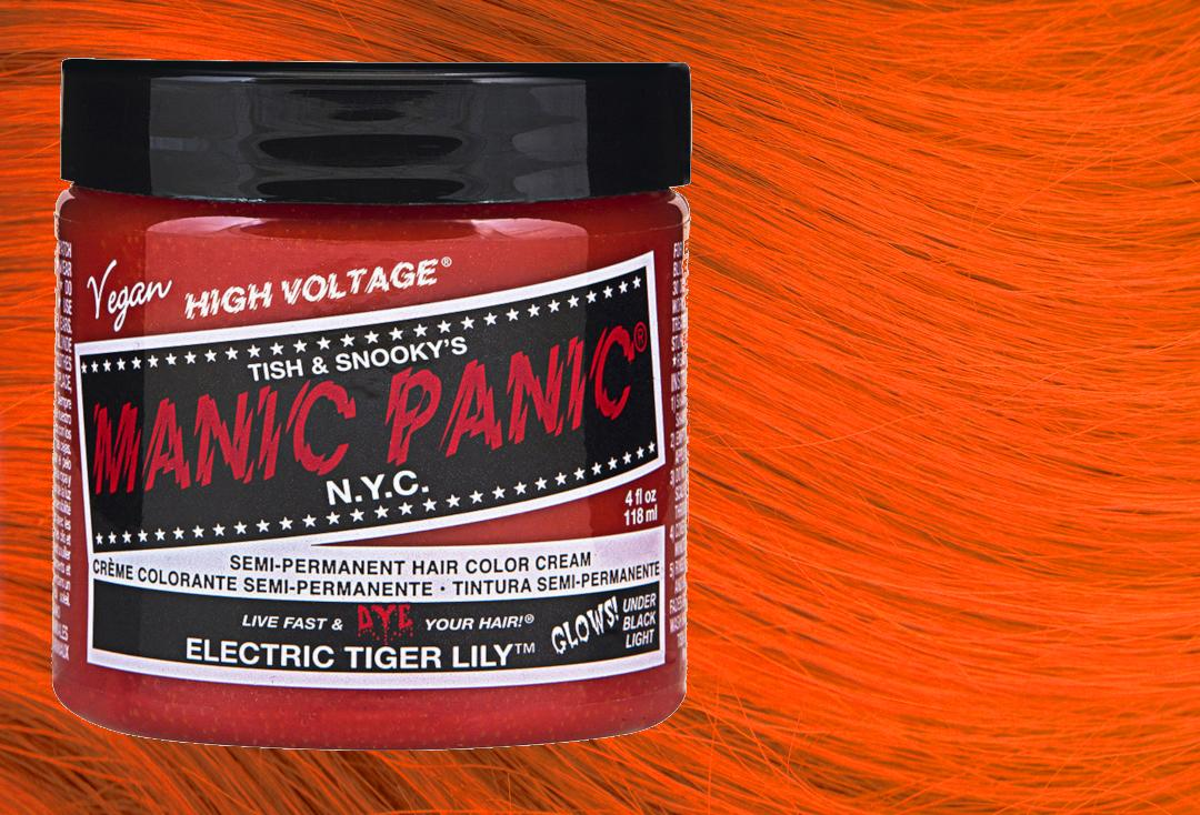 Manic Panic | Electric Tiger Lily High Voltage Classic Cream Hair Colour