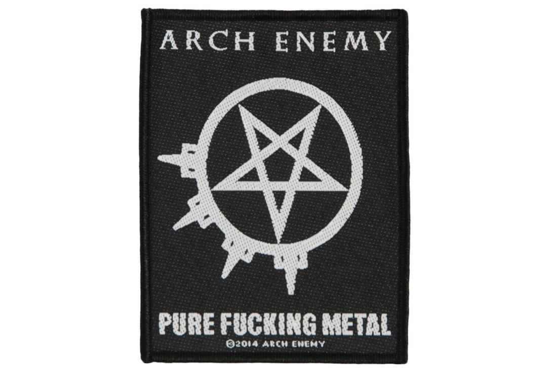 Official Band Merch | Arch Enemy - Pure Fucking Metal Woven Patch