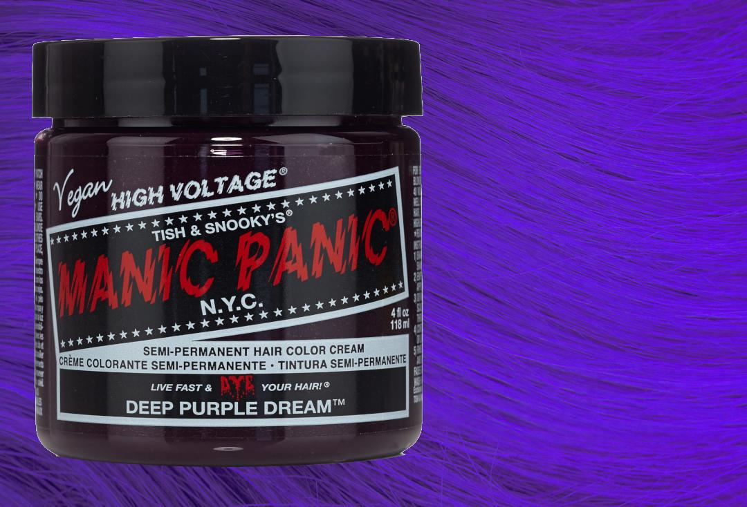 Manic Panic | Deep Purple Dream High Voltage Classic Cream Hair Colour