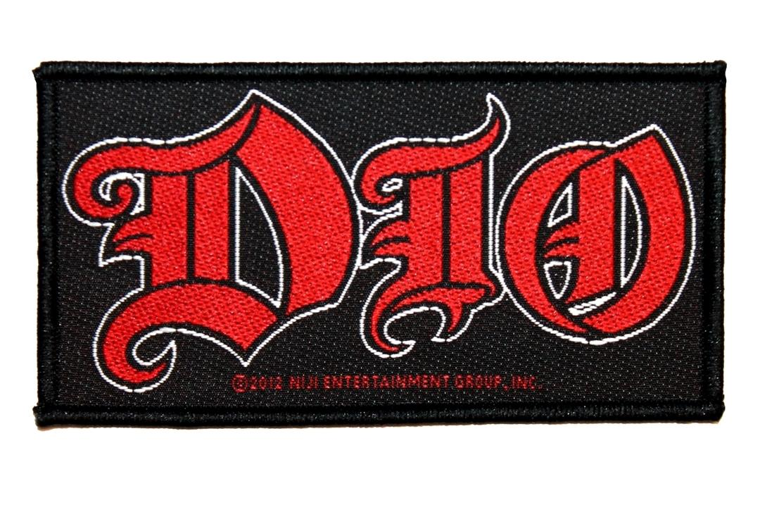 Official Band Merch | Dio - Logo Woven Patch