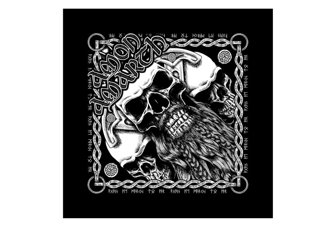 Official Band Merch | Amon Amarth - Bearded Skull Official Bandana