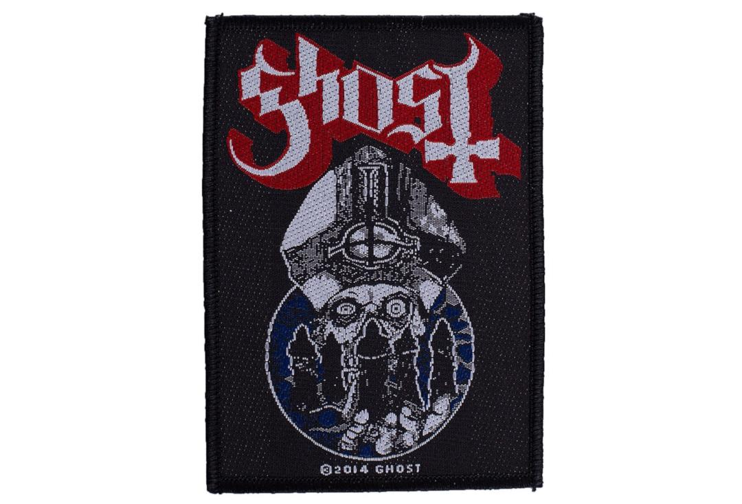Official Band Merch | Ghost - Papa Warriors Woven Patch