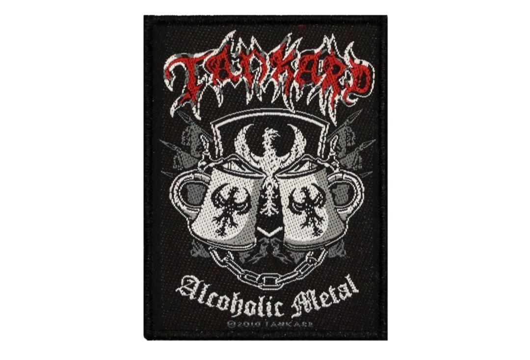 Official Band Merch | Tankard - Alcoholic Metal Woven Patch