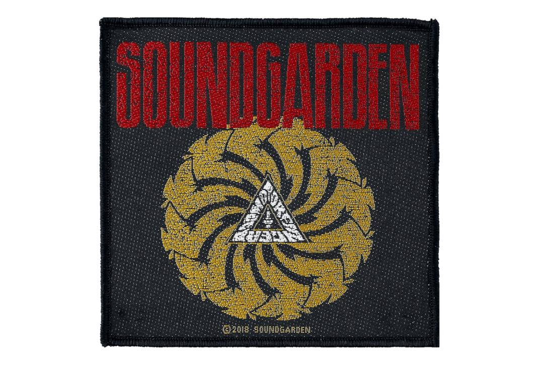 Official Band Merch | Soundgarden - Badmotorginger Woven Patch