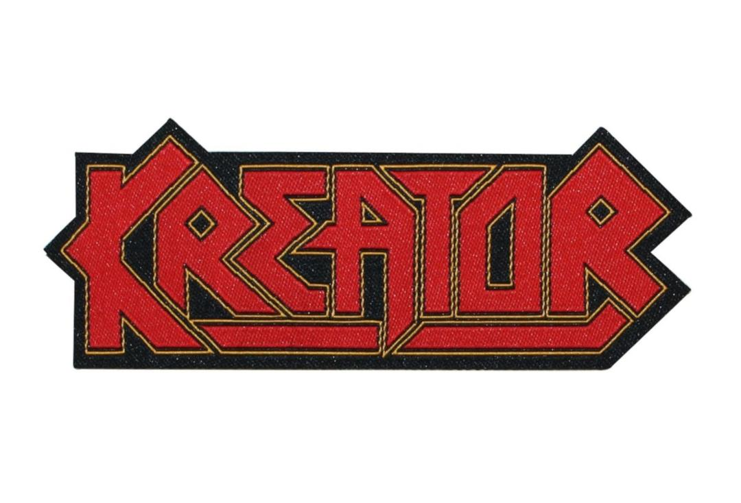 Official Band Merch | Kreator - Logo Woven Patch