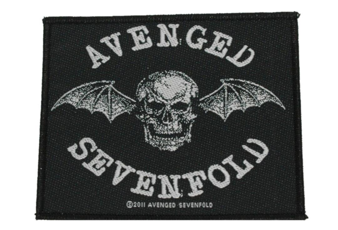 Official Band Merch | Avenged Sevenfold - Death Bat Woven Patch