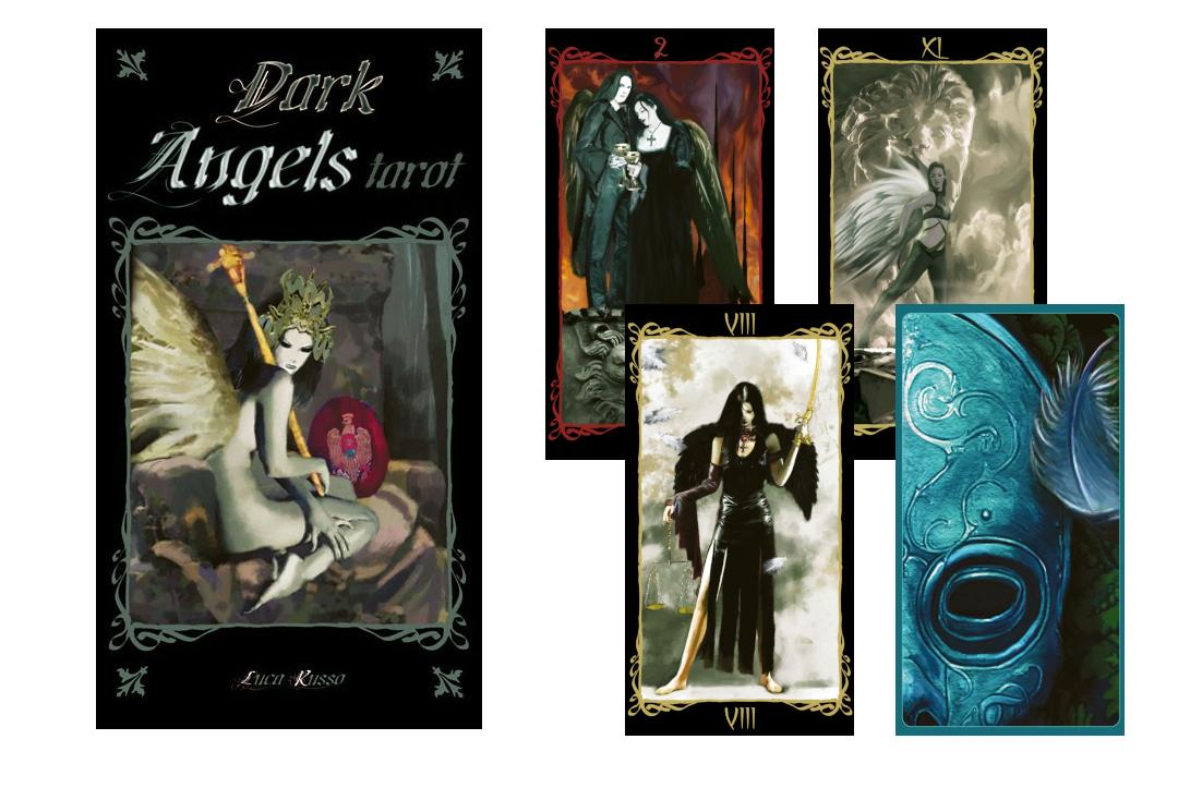 Lo Scarabeo | Dark Angel Tarot Cards