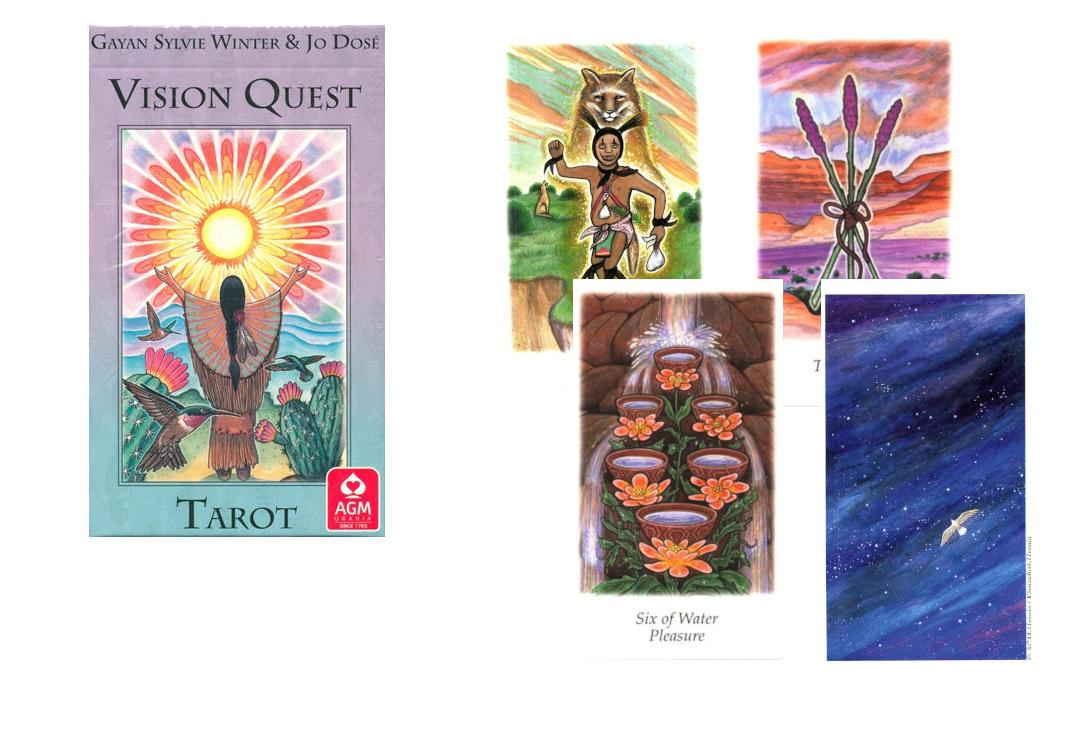 Void Clothing | Vision Quest Tarot Cards
