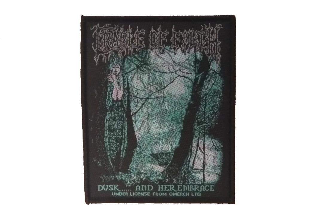 Official Band Merch | Cradle Of Filth - Dusk And Her Embrace Woven Patch