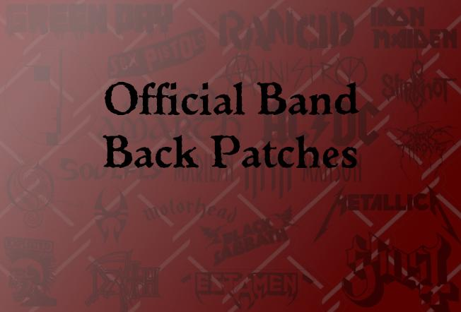 Official Back Patches