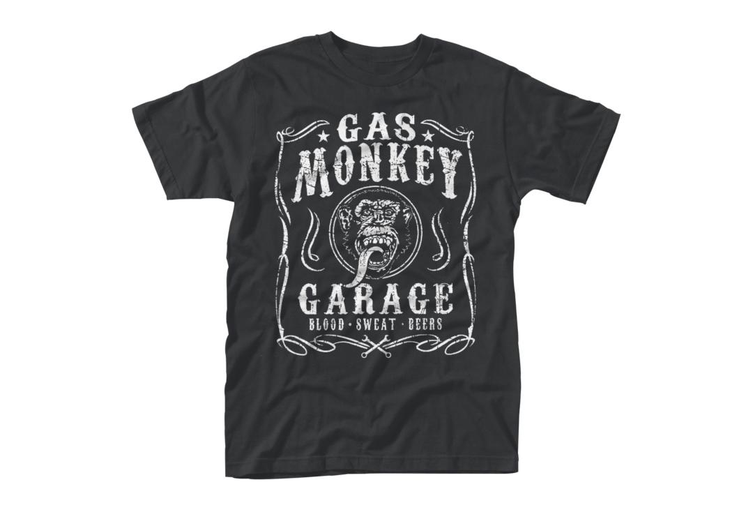 Gas Monkey Garage | Flourish Short Sleeve Men's T-Shirt