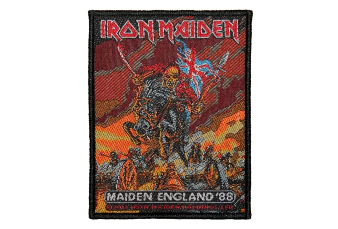 Official Band Merch | Iron Maiden - Maiden England Woven Patch