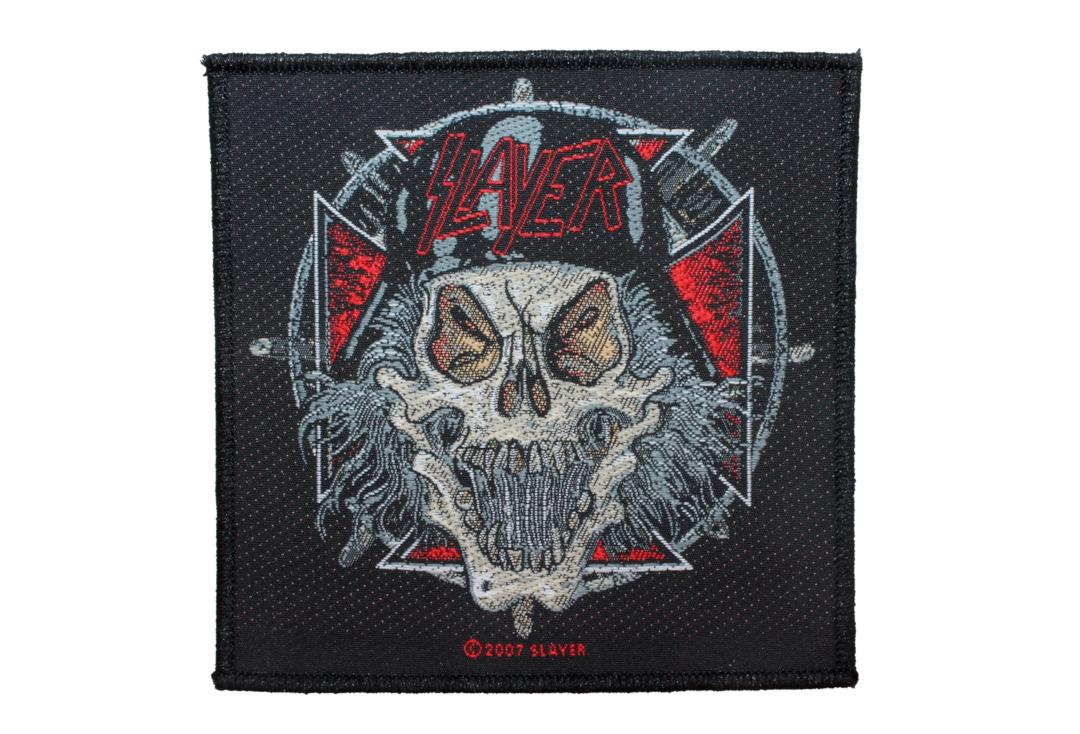 Official Band Merch | Slayer - Slaytanic Wehrmacht Woven Patch