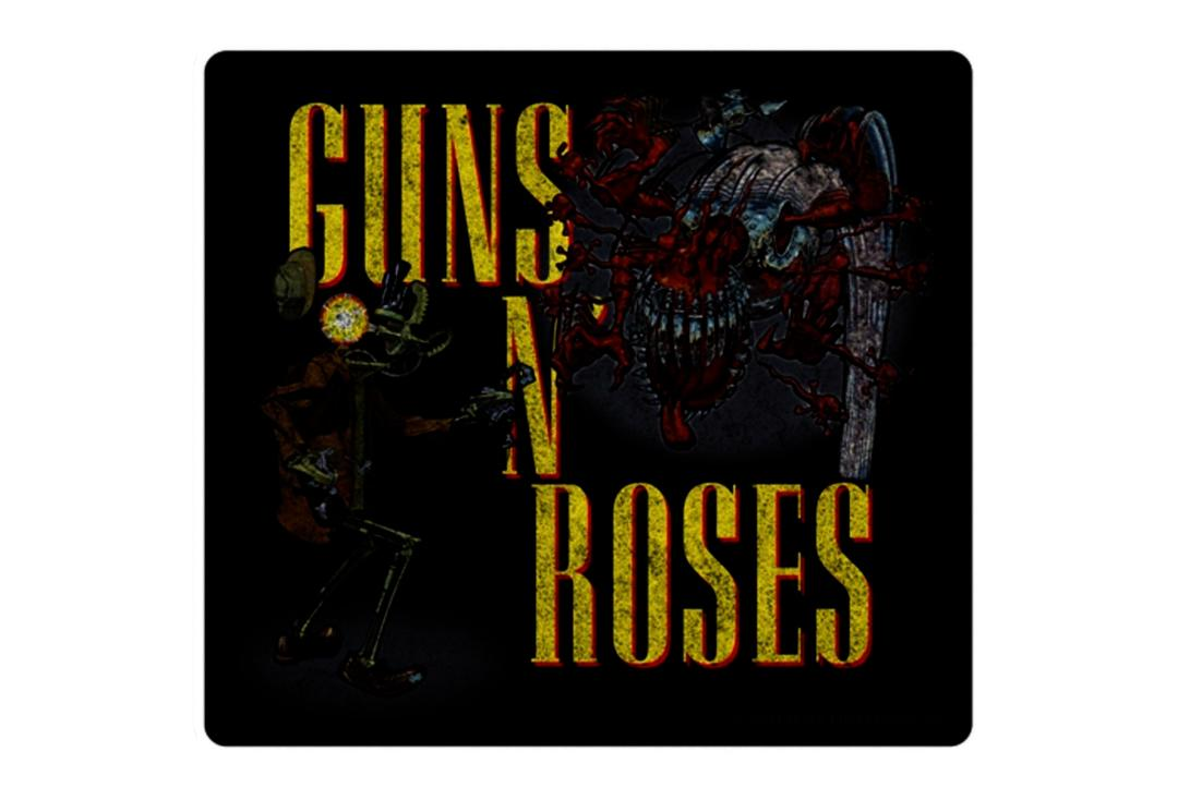 Official Band Merch | Guns N' Roses - Appetite For Destruction Vinyl Sticker