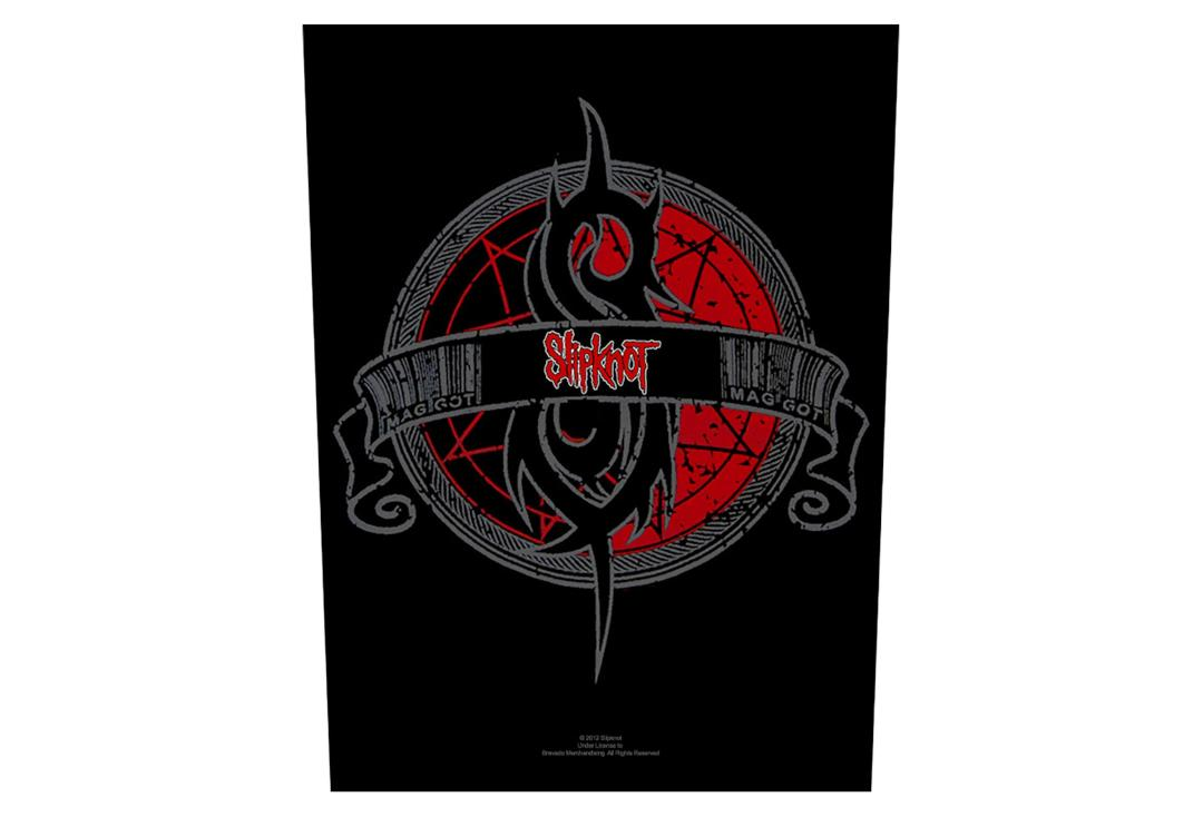 Official Band Merch | Slipknot - Crest Printed Back Patch