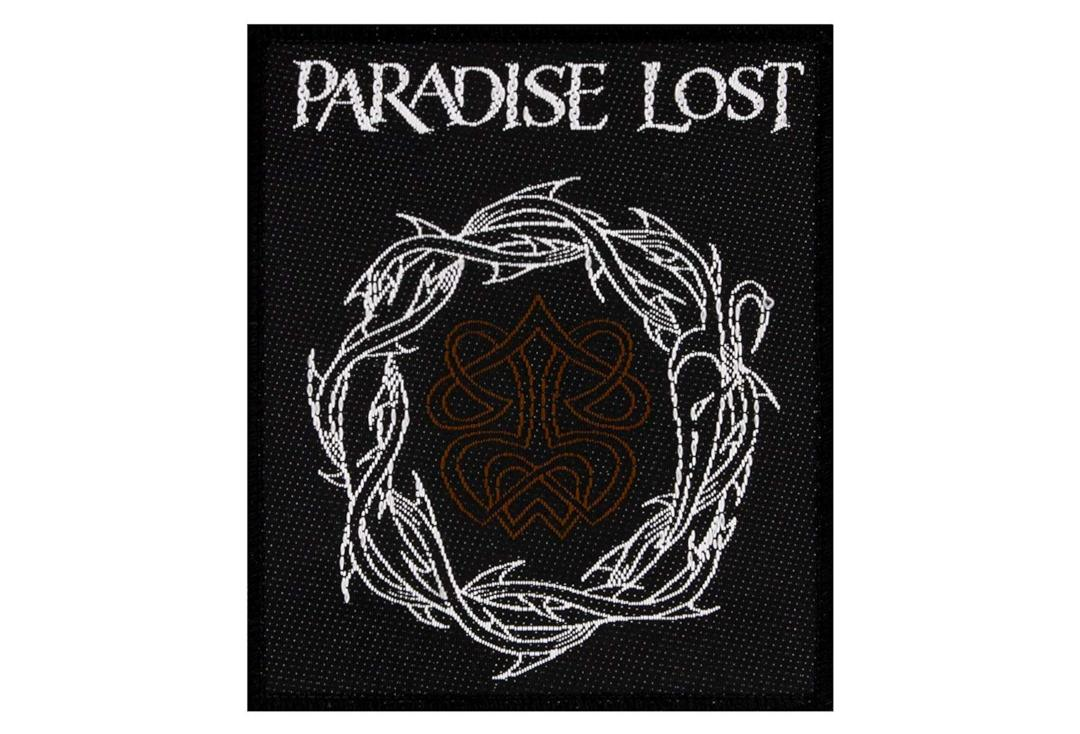 Official Band Merch | Paradise Lost - Crown Of Thorns Woven Patch