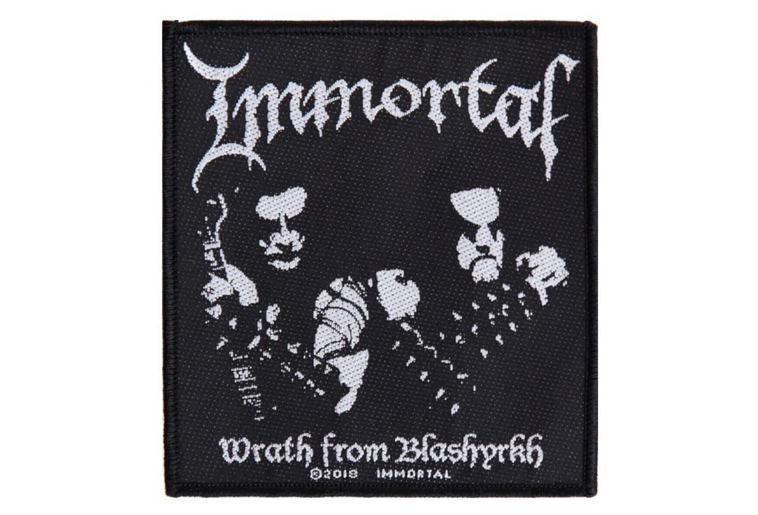 Official Band Merch | Immortal - Wrath From Blashyrkh Woven Patch