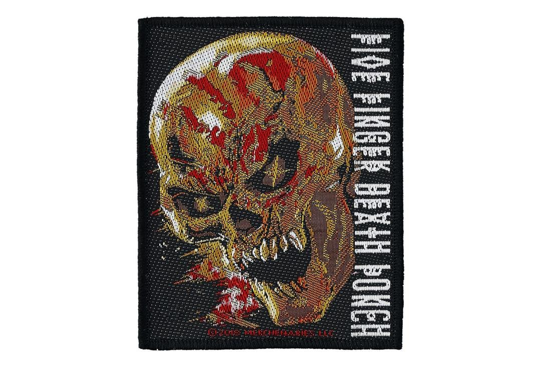 Official Band Merch | Five Finger Death Punch - And Justice For None Woven Patch