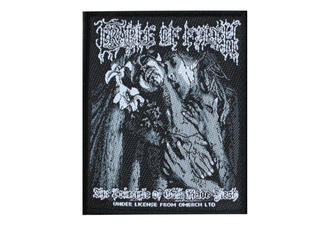 Official Band Merch | Cradle Of Filth - The Principle Of Evil Made Flesh Woven Patch