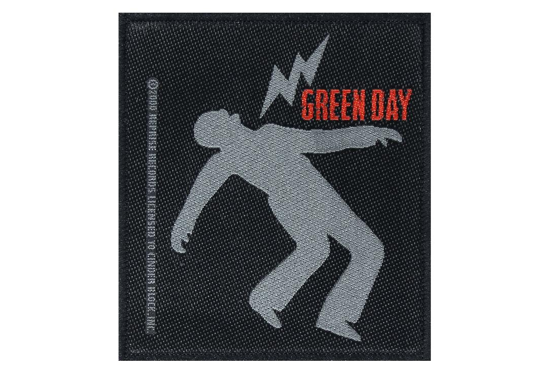 Official Band Merch | Green Day - Lightning Bolt Woven Patch