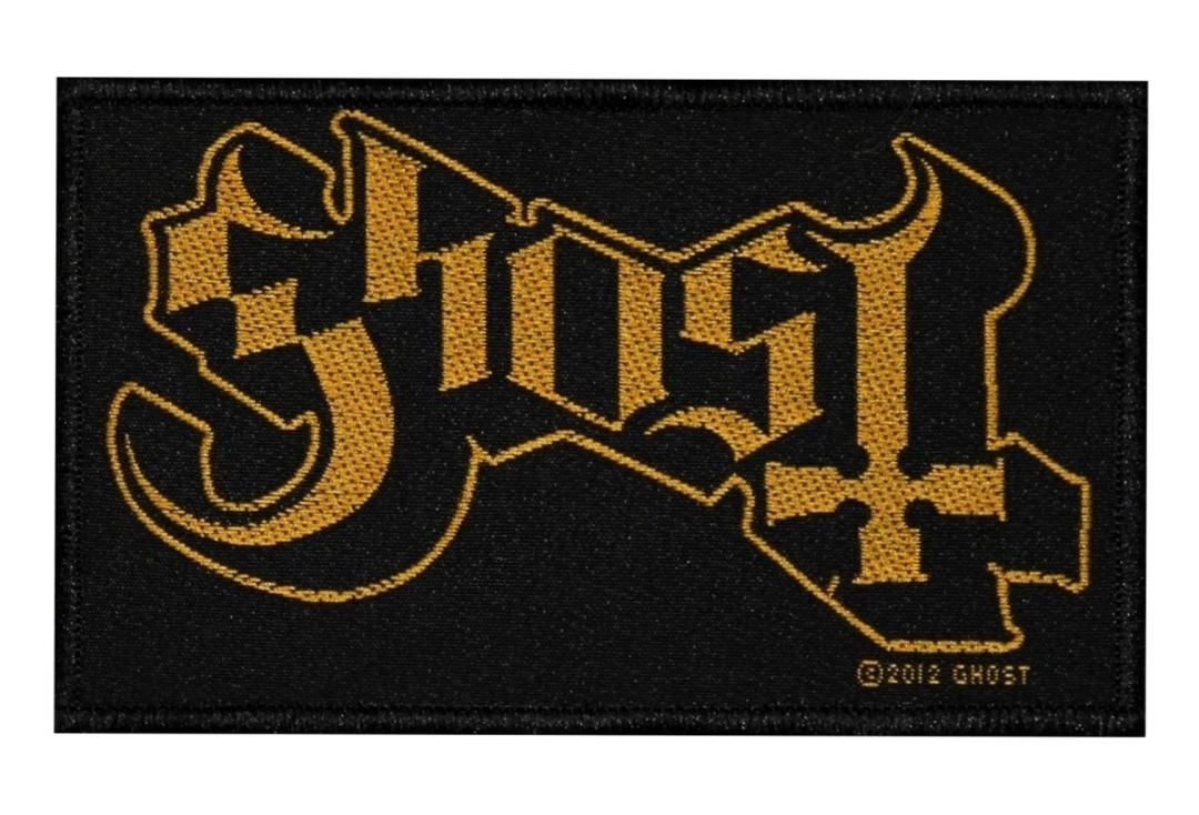 Official Band Merch | Ghost - Logo Woven Patch