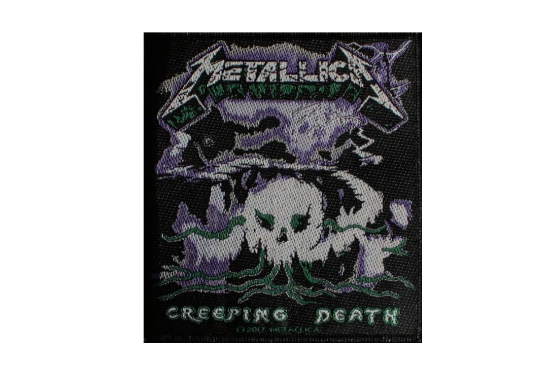 Official Band Merch | Metallica - Creeping Death Woven Patch