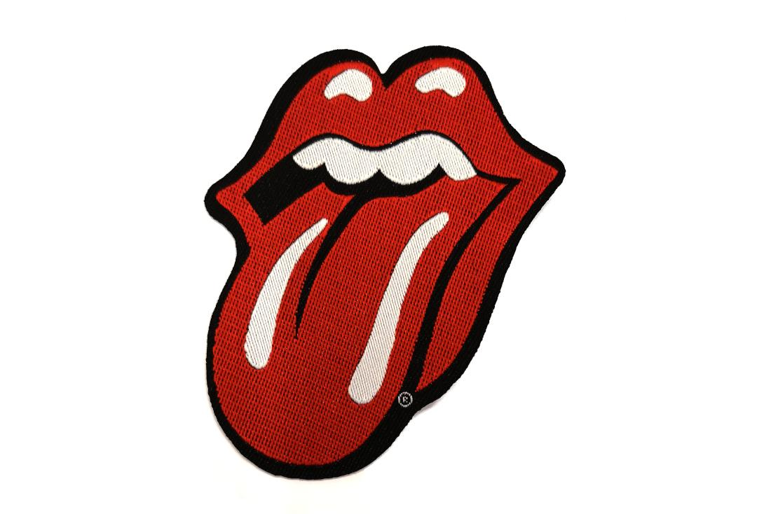 Official Band Merch | The Rolling Stones - Tongue Cut Out Woven Patch