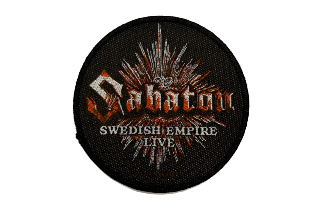 Official Band Merch | Sabaton - Swedish Empire Live Woven Patch