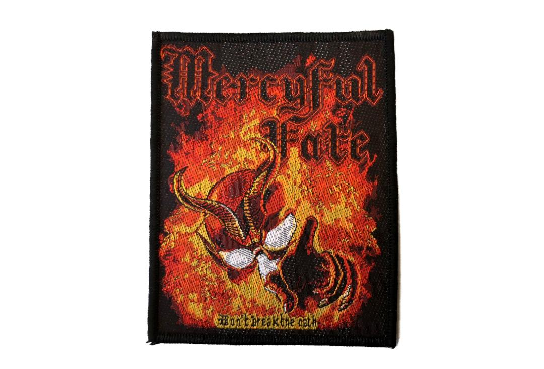 Official Band Merch |   Mercyful Fate - Don't Break The Oath Woven Patch