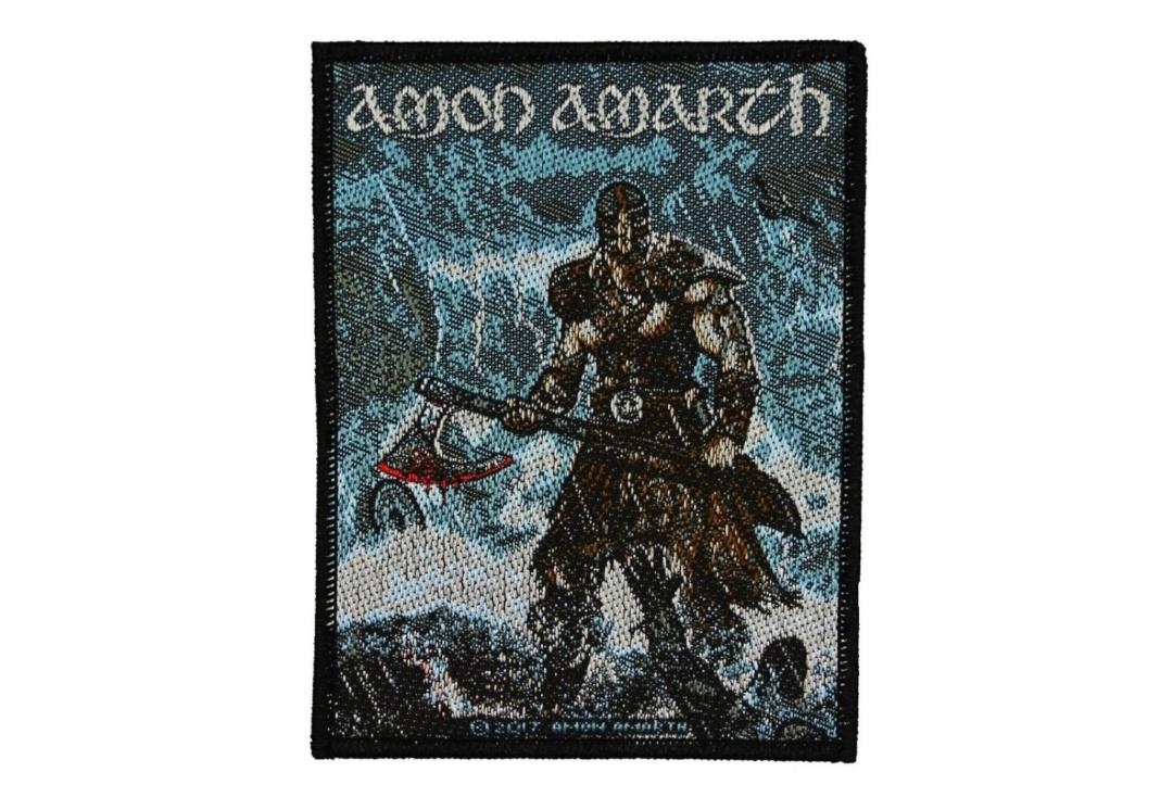 Official Band Merch | Amon Amarth - Jomsviking Woven Patch