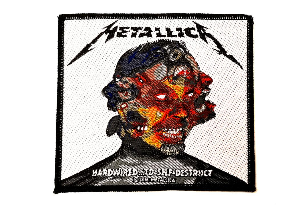 Official Band Merch | Metallica - Hardwired To Self-Destruct Woven Patch