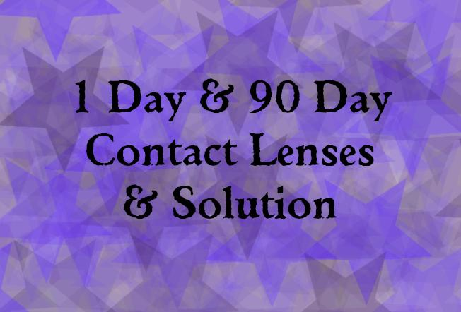 Contact Lenses & Solution