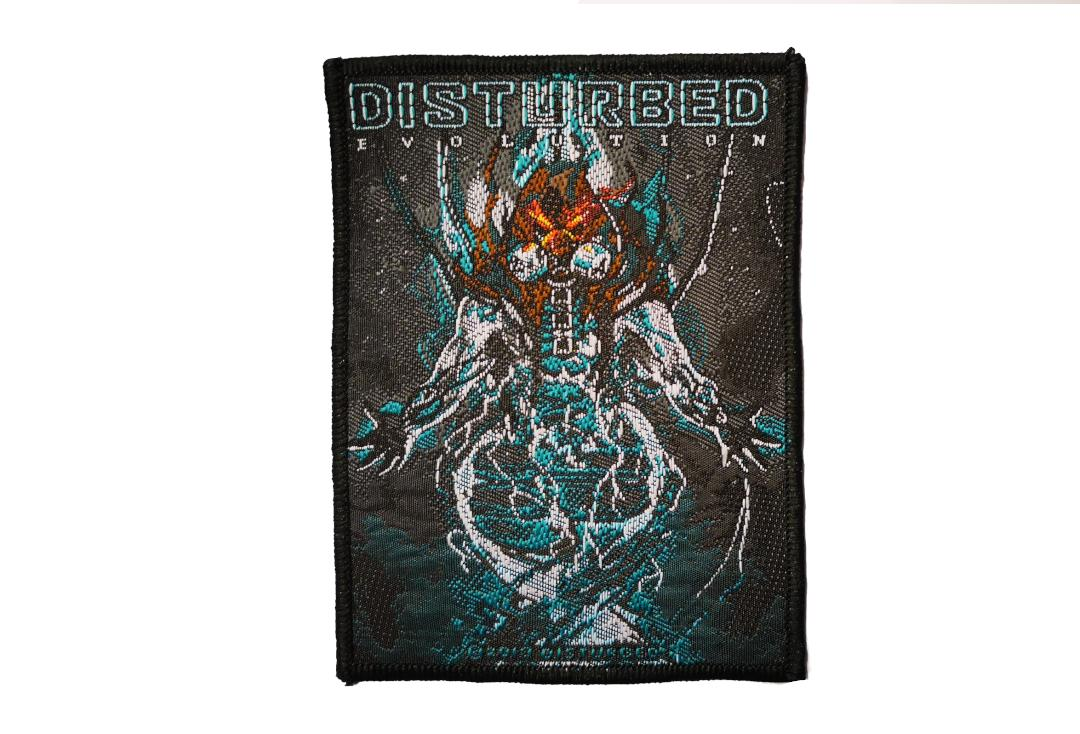 Official Band Merch | Disturbed - Evolution Hooded Woven Patch