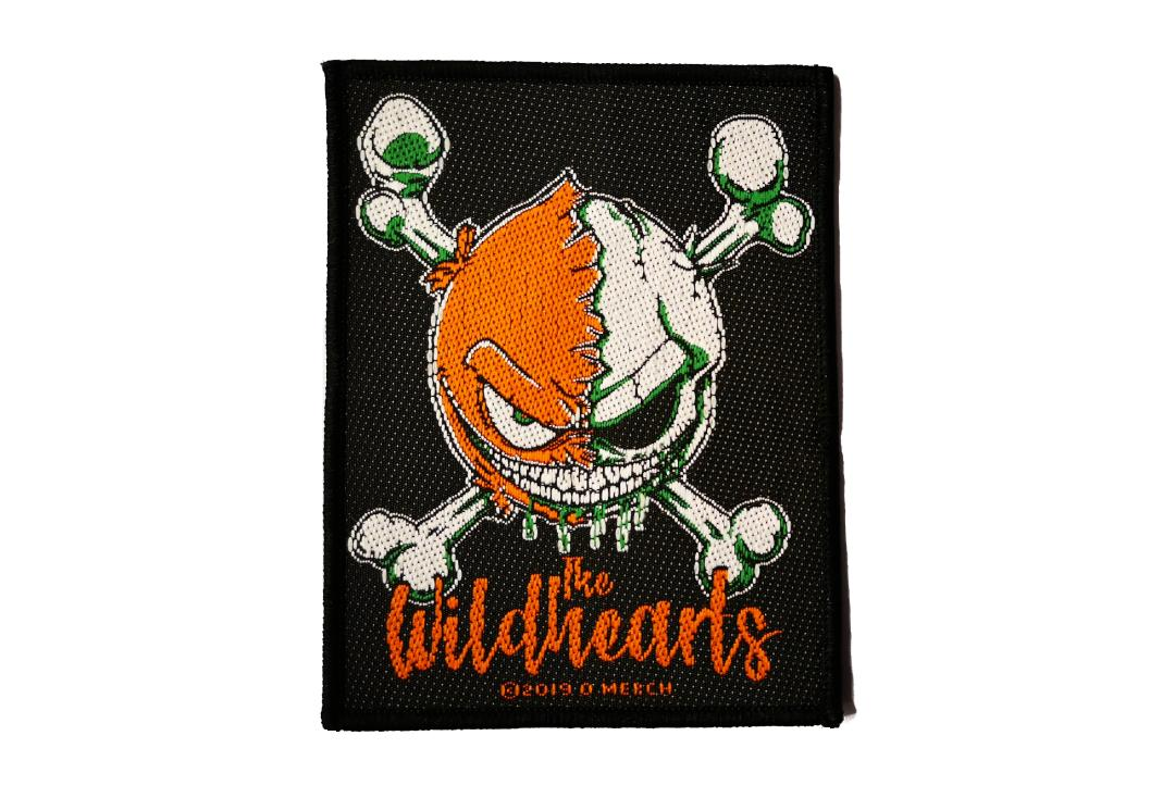 Official Band Merch | The Wildhearts - Green Skull Woven Patch