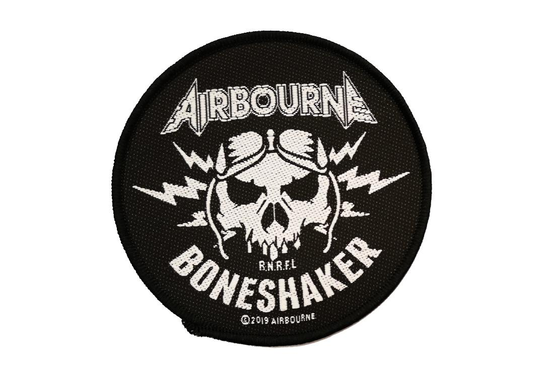 Official Band Merch | Airbourne - Boneshaker Woven Patch