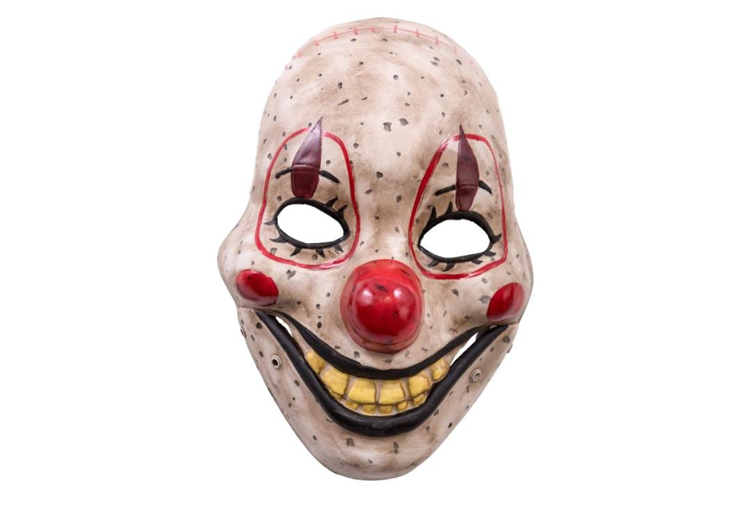 Void Clothing | Red Aged Moving Jaw Clown Mask