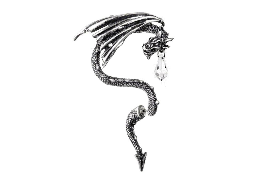 Alchemy Gothic | Crystal Dragon Ear Wrap
