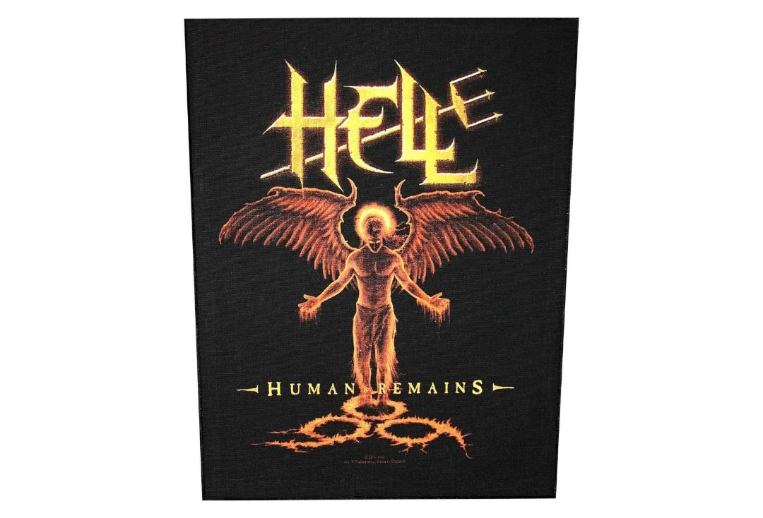 Official Band Merch | Hell - Human Remains Printed Back Patch