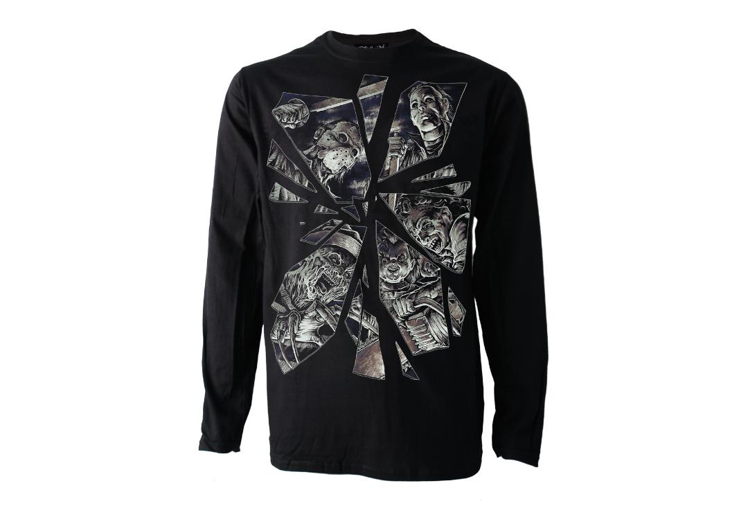 Darkside Clothing | Horror Mirror Long Sleeve Men's T-Shirt