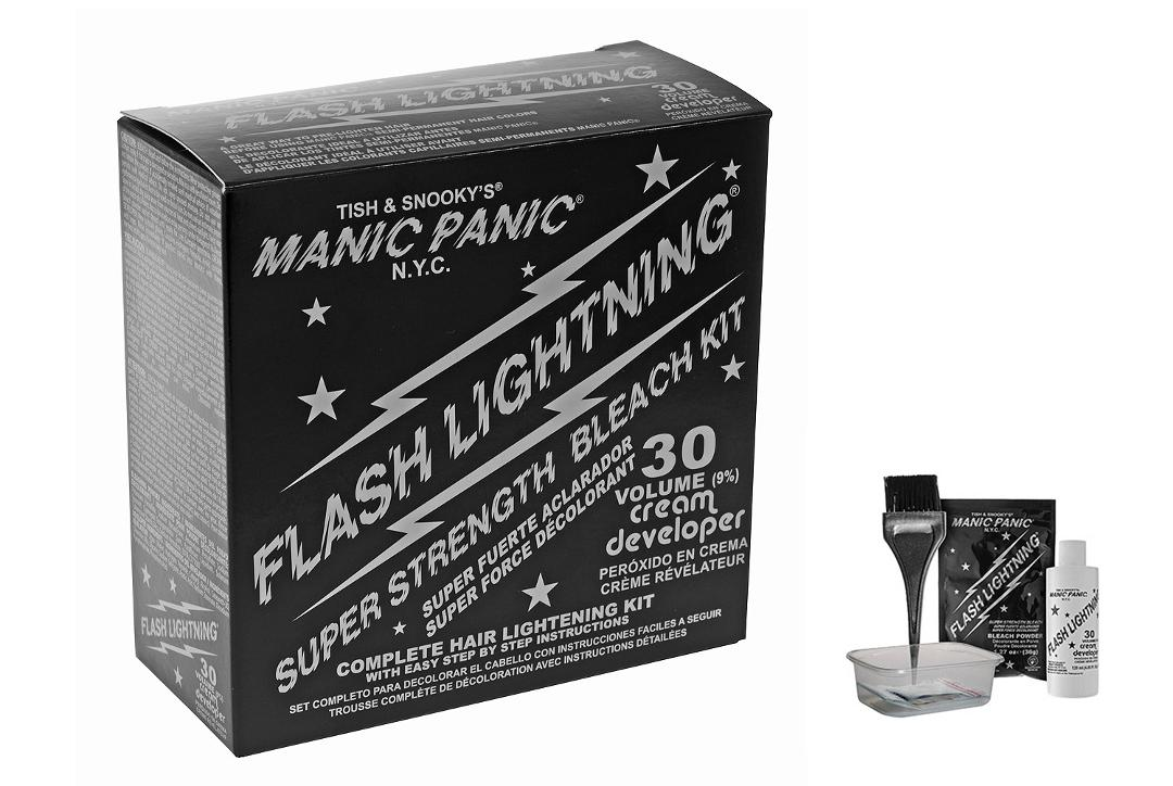 Manic Panic Flash Lightening Super Strength Bleach Kit
