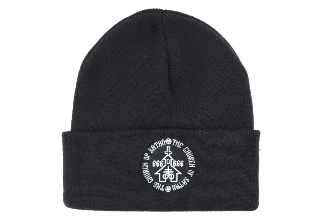 Darkside Clothing | Church Of Satan Beanie Hat