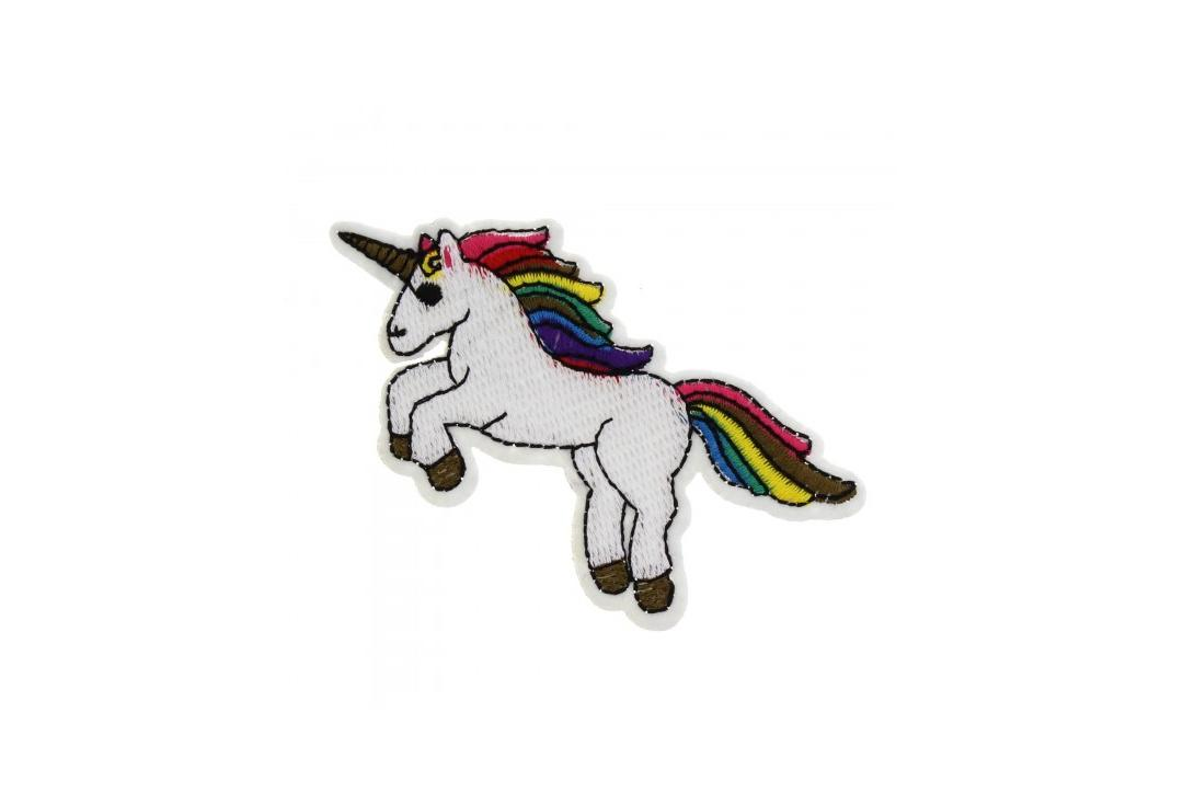 Official Band Merch | Rampant Unicorn Woven Patch