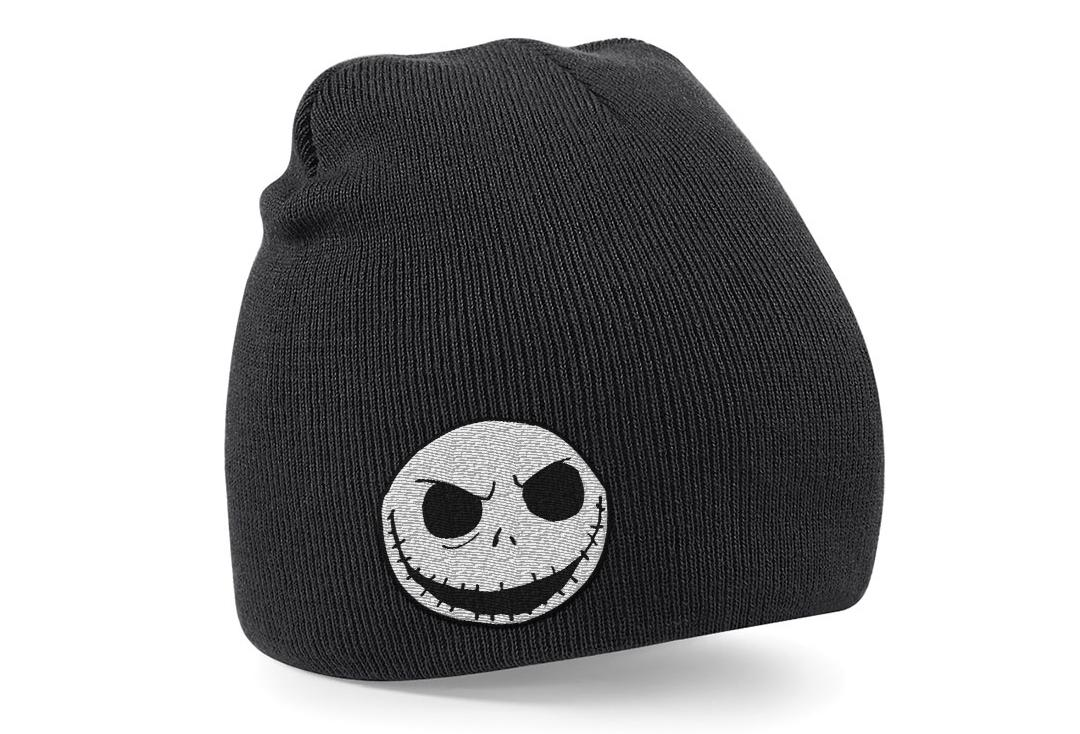 Official Film & TV Merch | The Nightmare Before Christmas Skull Logo Knitted Beanie