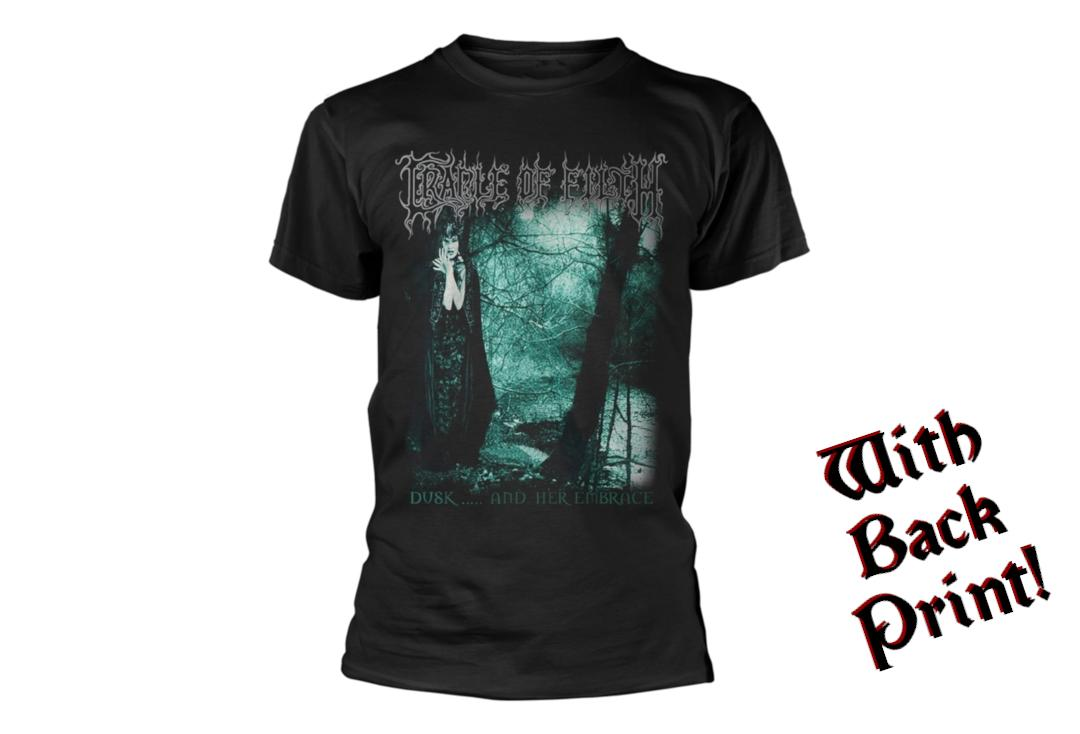 Official Band Merch | Cradle Of Filth - Dusk And Her Embrace Men's Short Sleeve T-Shirt - Front
