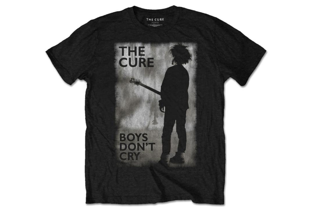 Official Band Merch | The Cure - Boys Don't Cry Men's Short Sleeve T-Shirt